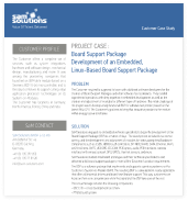 Board Support Package