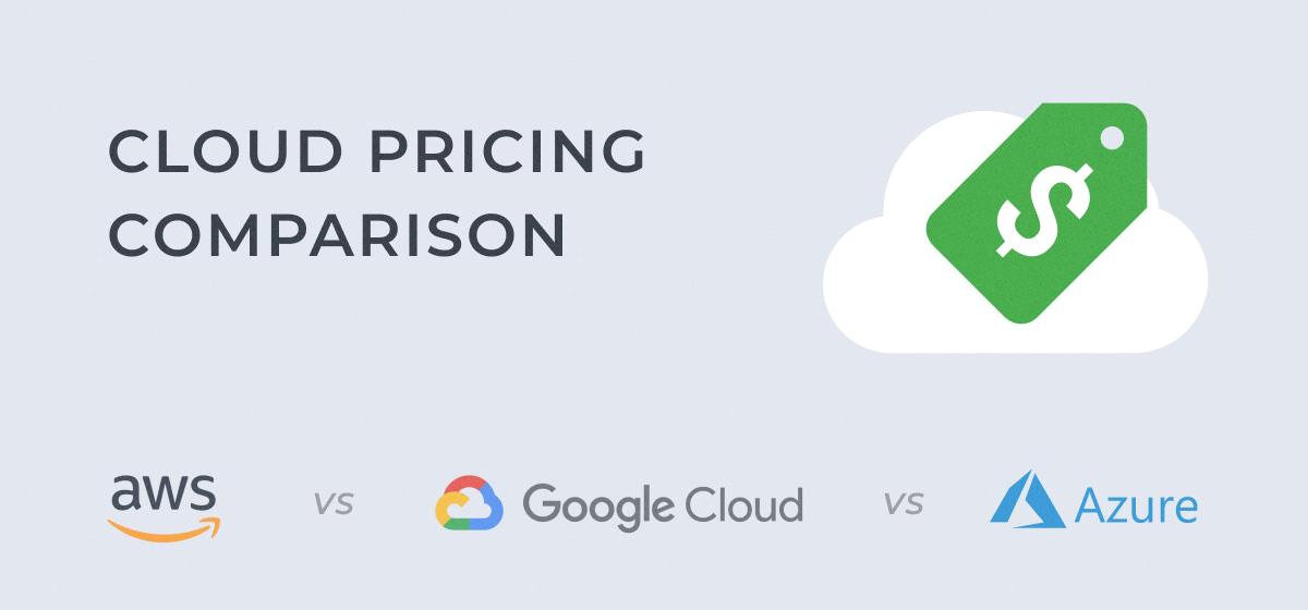 AWS, Azure, GCP: Cloud Pricing Comparison