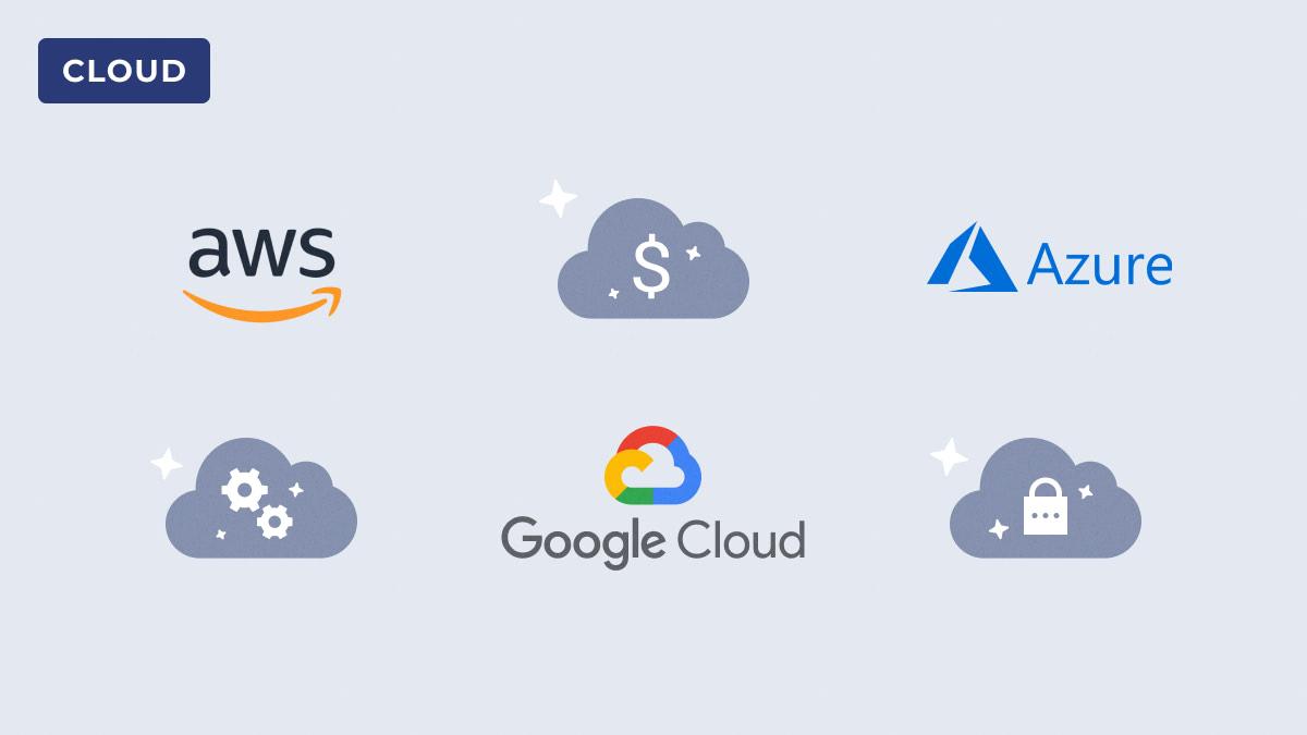 Comparison AWS vs Google Cloud Platform vs Azure
