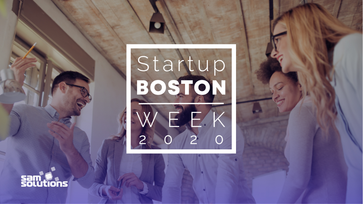 SaM Solutions announces sponsorship of the 2020 Boston Startup week