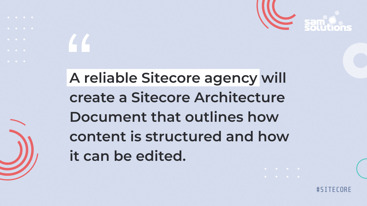 Sitecore architecture quote