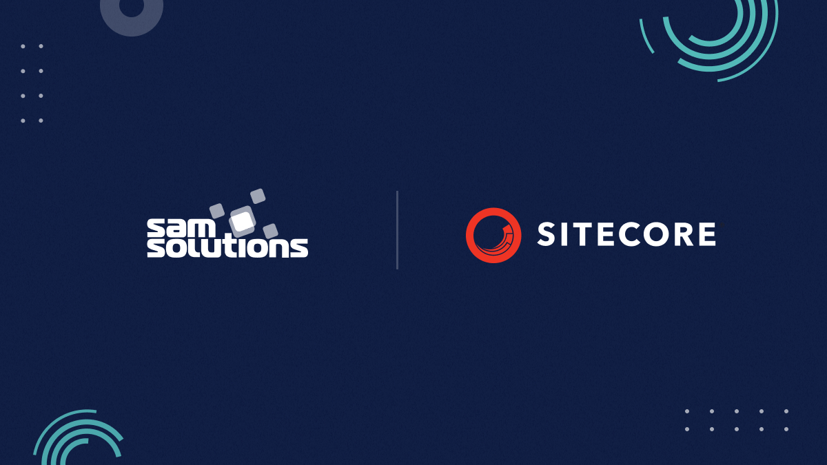 sam solutions and sitecore logo